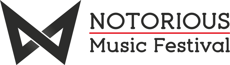 nadaone design nototrious music festival gt event identity